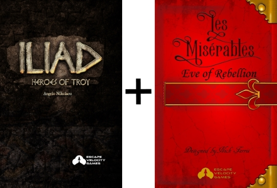 Iliad: Heroes of Troy + Les Miserables: Eve of Rebellion